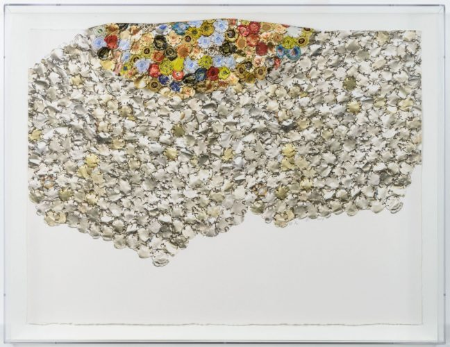 Variation I (B) by El Anatsui