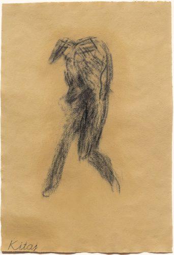 Little Whist Self-Portrait by R.B. Kitaj