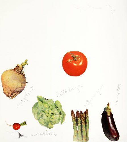 (Untitled) Vegetables by Jim Dine