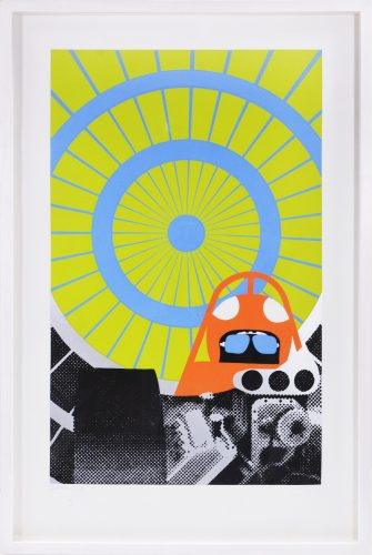 Deceleration II From the Dragsters portfolio by Gerald Laing