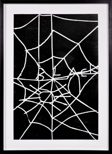 Web by David Shrigley
