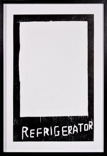 Refrigerator by David Shrigley