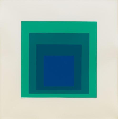 EK Ia by Josef Albers at