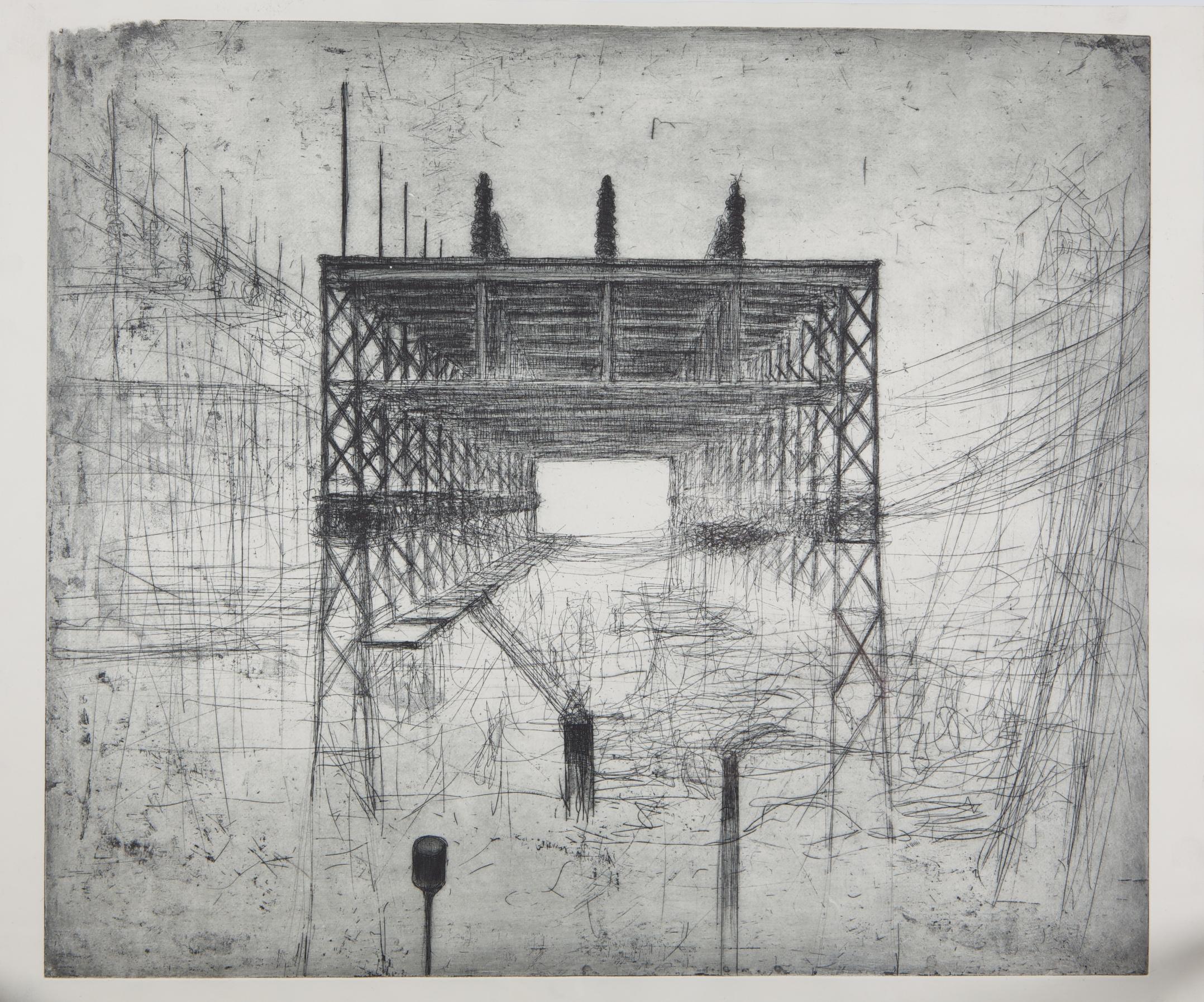 Alta Tensao-Ruinas da Modernidade (High Voltage-Modernity Ruins) by George Gutlich
