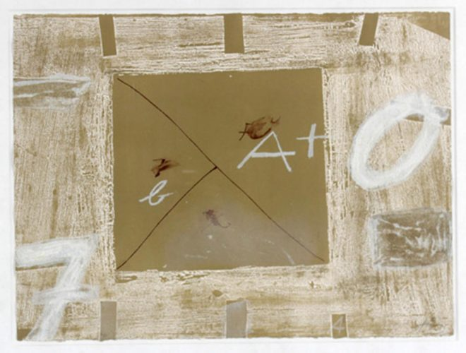 Dossier by Antoni Tapies at