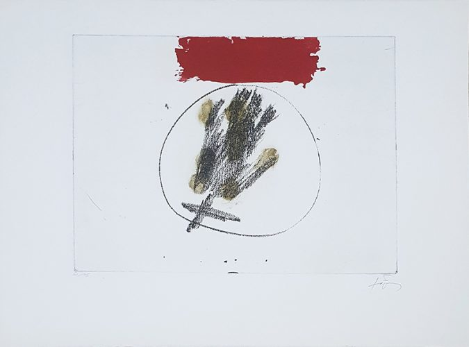 Llul-Tàpies by Antoni Tapies at