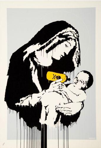 Toxic Mary by Banksy