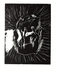 Zwei Pferde (Two Horses) by Georg Baselitz at