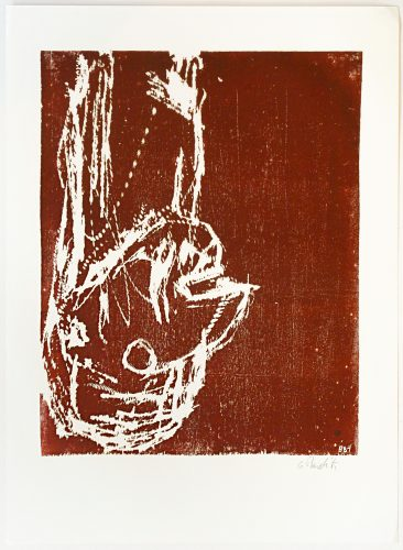 Kopf (Head) by Georg Baselitz