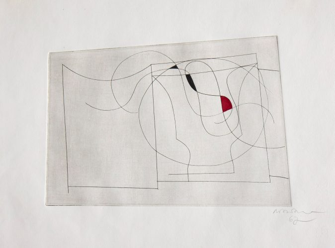 Flowing Forms by Ben Nicholson at