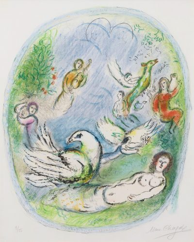 L'Age d'Or by Marc Chagall