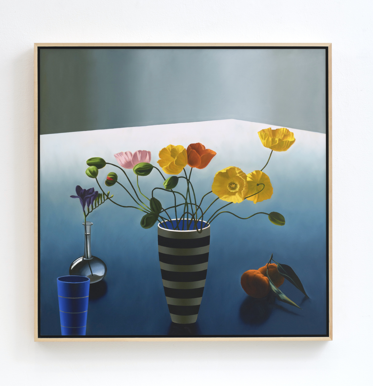 Still Life with Icelandic Poppies by Bruce Cohen