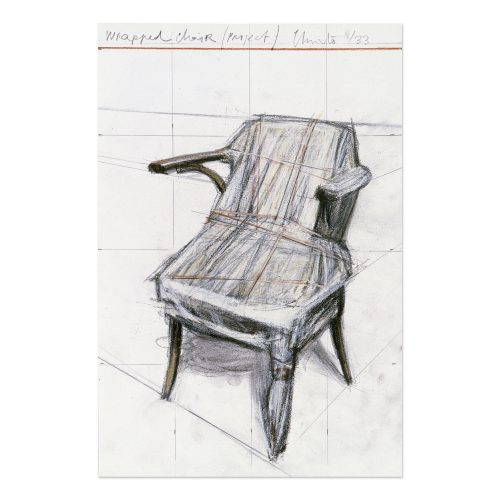 Wrapped Chair (Project) by Christo at Christo