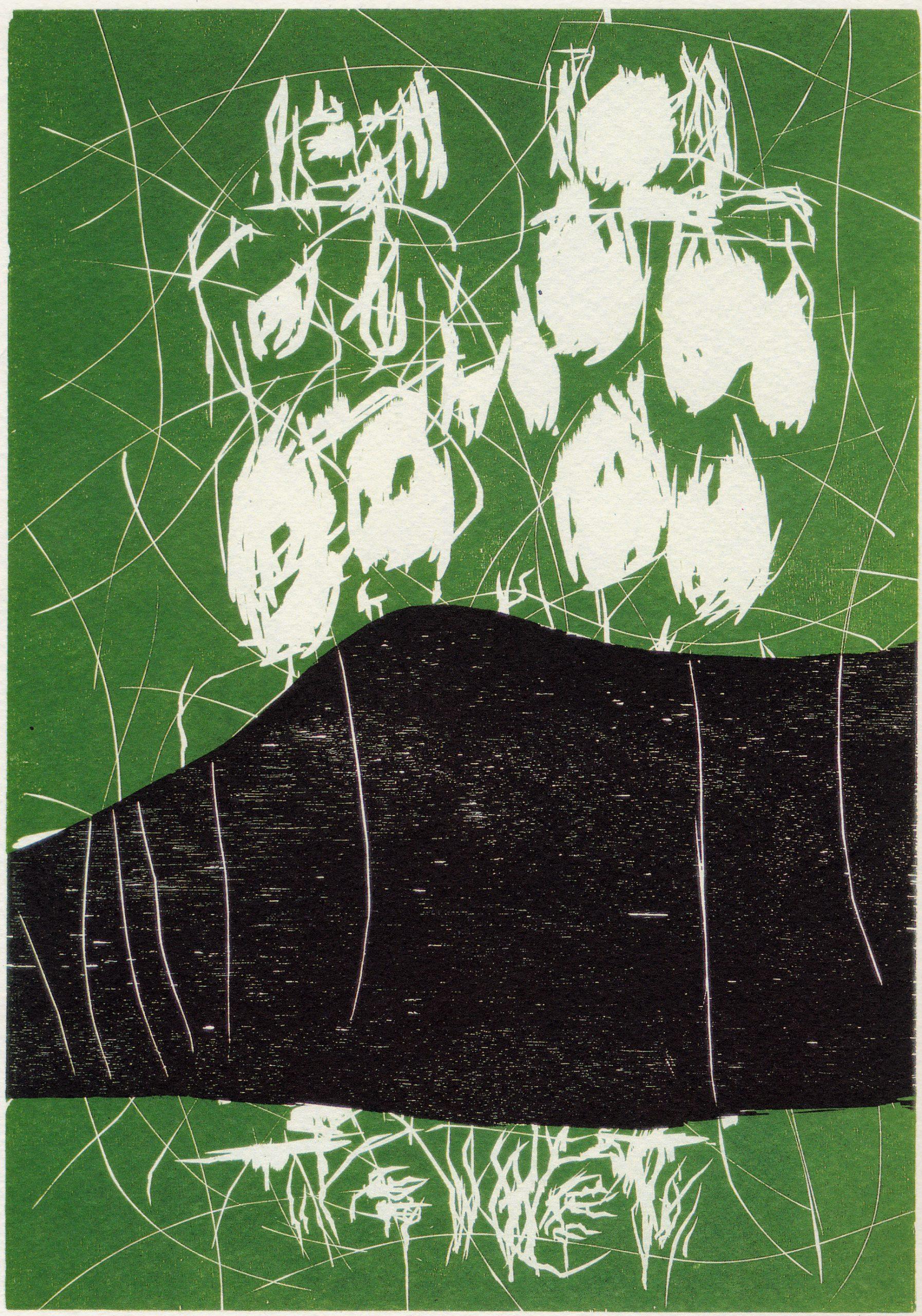 Der Berg (Mountain) by Georg Baselitz