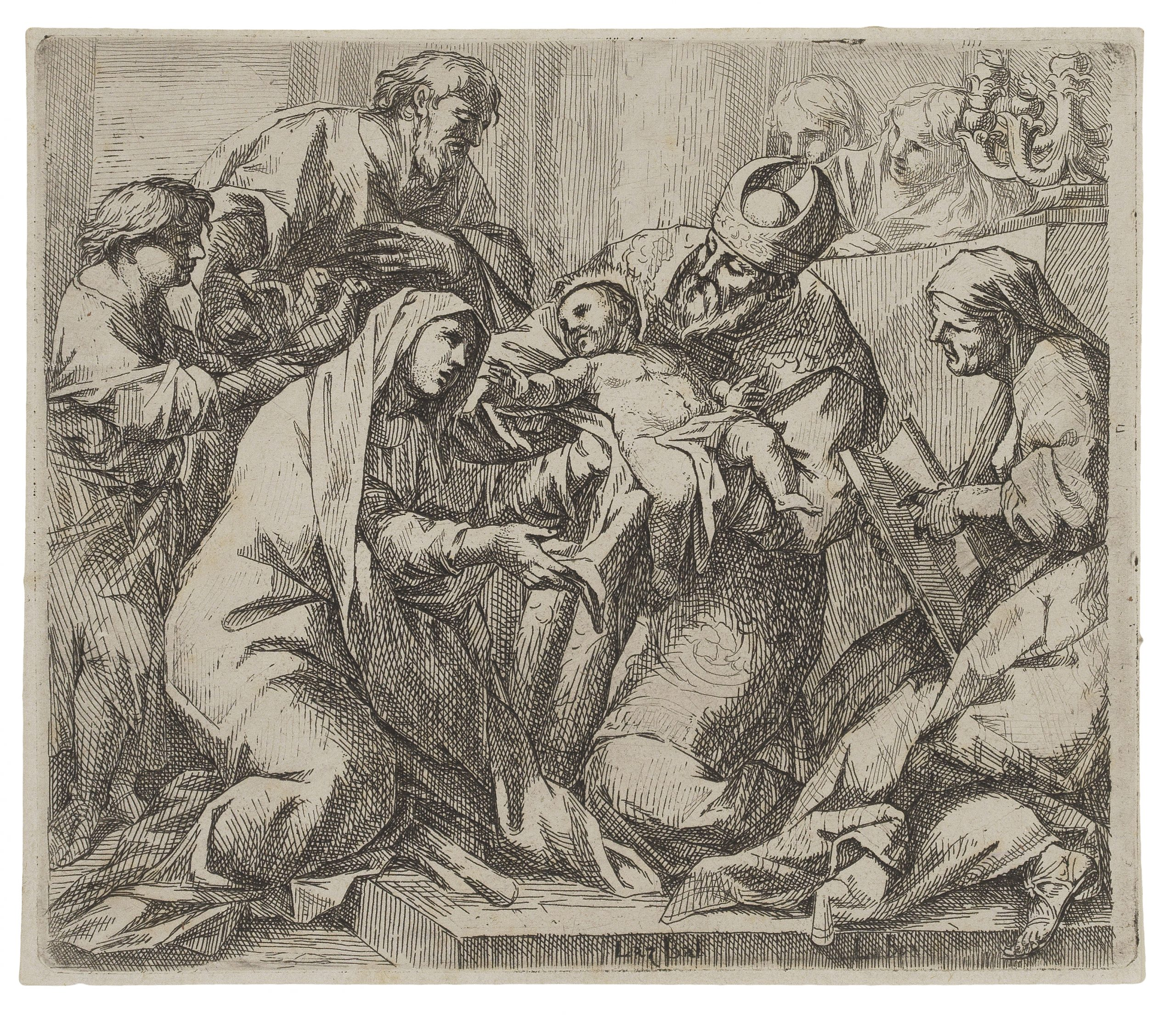 Circumcision of Christ. by Lucio Bononi