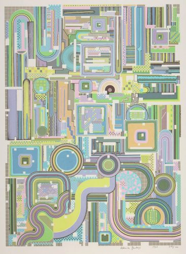 Untitled (Rothko Portfolio) by Eduardo Paolozzi at