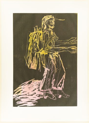Falle (Trap) by Georg Baselitz at