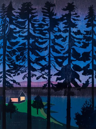 The Bay Coming In (homage to Harald Sohlberg) by Tom Hammick