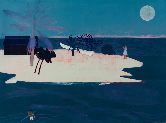 Waiting For Time by Tom Hammick