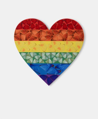 H7-4 Butterfly Heart (Small) by Damien Hirst