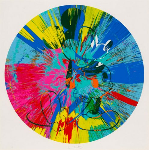 Beautiful Mickey by Damien Hirst at Damien Hirst