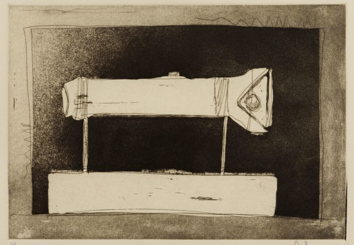 Flashlight (Large), from 1st Etchings, 2nd State by Jasper Johns