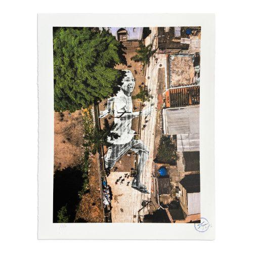 Giants, Miguel, Casa Amarela, Morro da Providência, Rio de Janeiro, Brazil by JR at