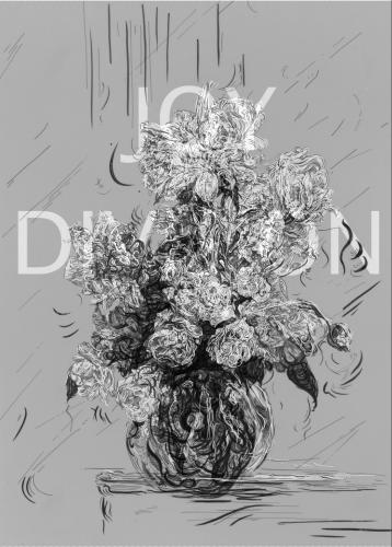 Joy Division by Glenn Brown at