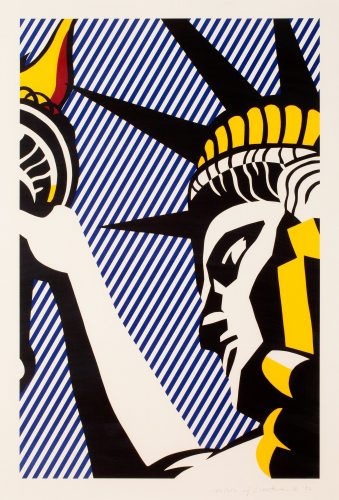 I Love Liberty (C. 192) by Roy Lichtenstein