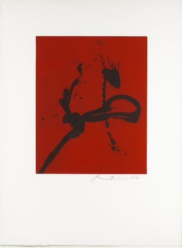 Gesture iv by Robert Motherwell at