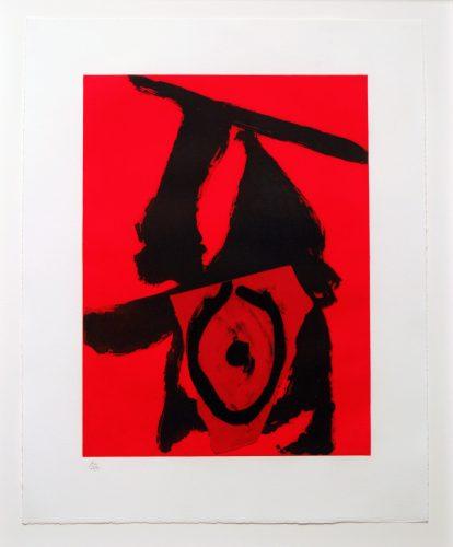 Red Queen by Robert Motherwell at Robert Motherwell