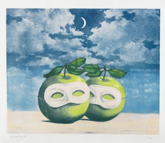 La Valse Hesitation by Rene Magritte at
