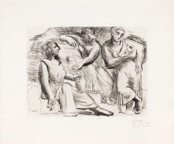 La Source by Pablo Picasso