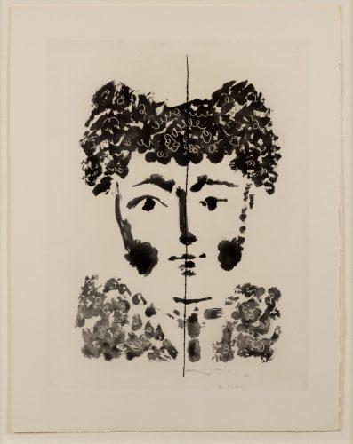 Torero, from Le Carmen des Carmen by Pablo Picasso