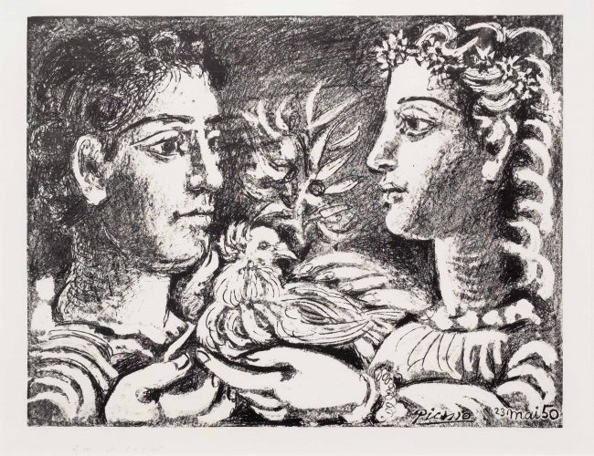 Youth, 23 May by Pablo Picasso