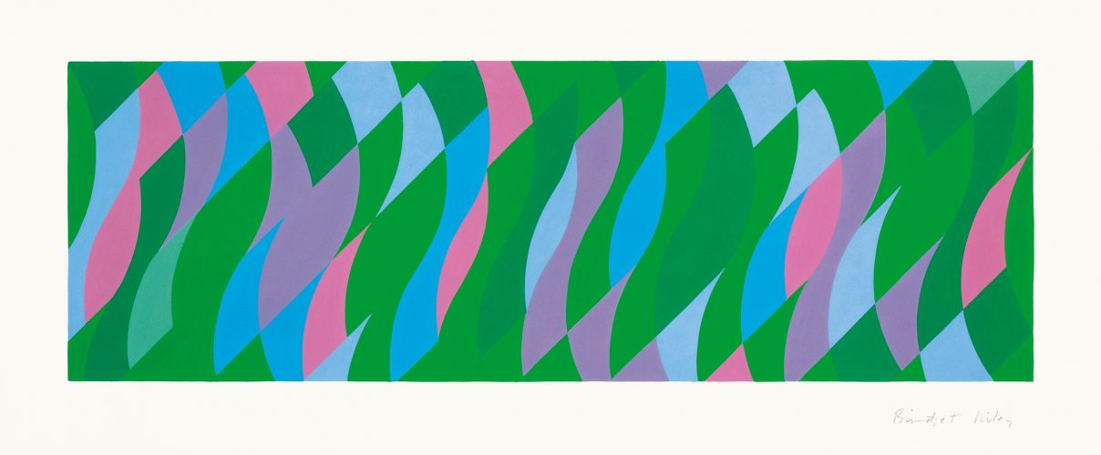 Passing By by Bridget Riley at Sims Reed Gallery (IFPDA)