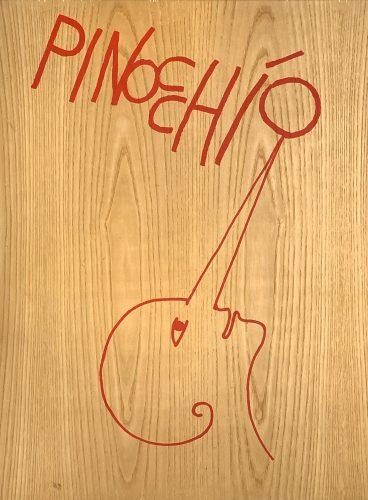 Pinocchio by Mimmo Paladino