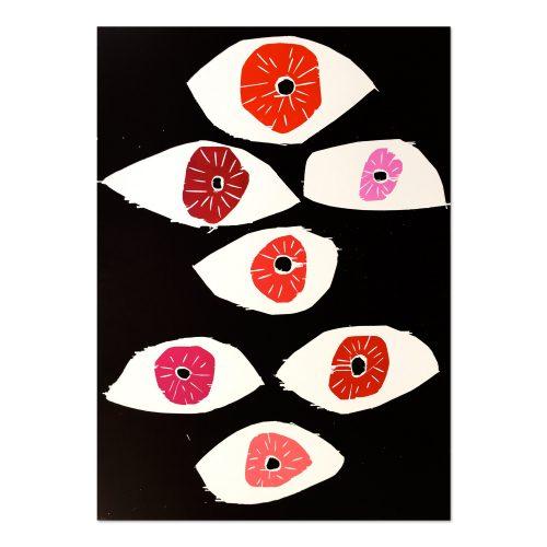 Eyes by David Shrigley at
