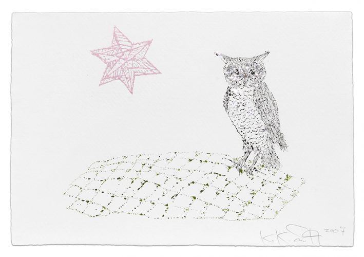 Owl by Kiki Smith