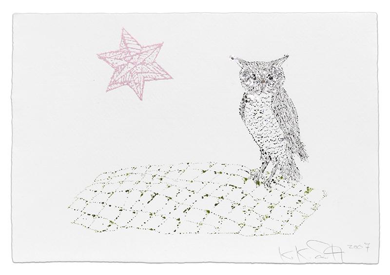 Owl by Kiki Smith