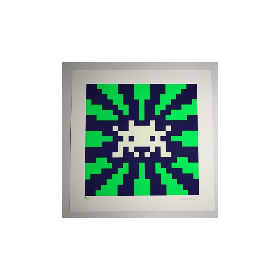 Sunset (Glow in the Dark) by Invader