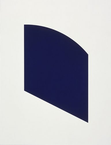 Dark Purple by Ellsworth Kelly