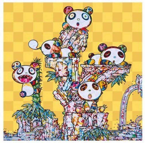 Panda Cubs Panda Cubs by Takashi Murakami