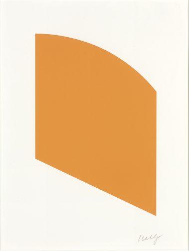 Orange by Ellsworth Kelly