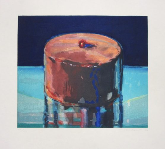 Dark Cake by Wayne Thiebaud at Michael Lisi/Contemporary Art