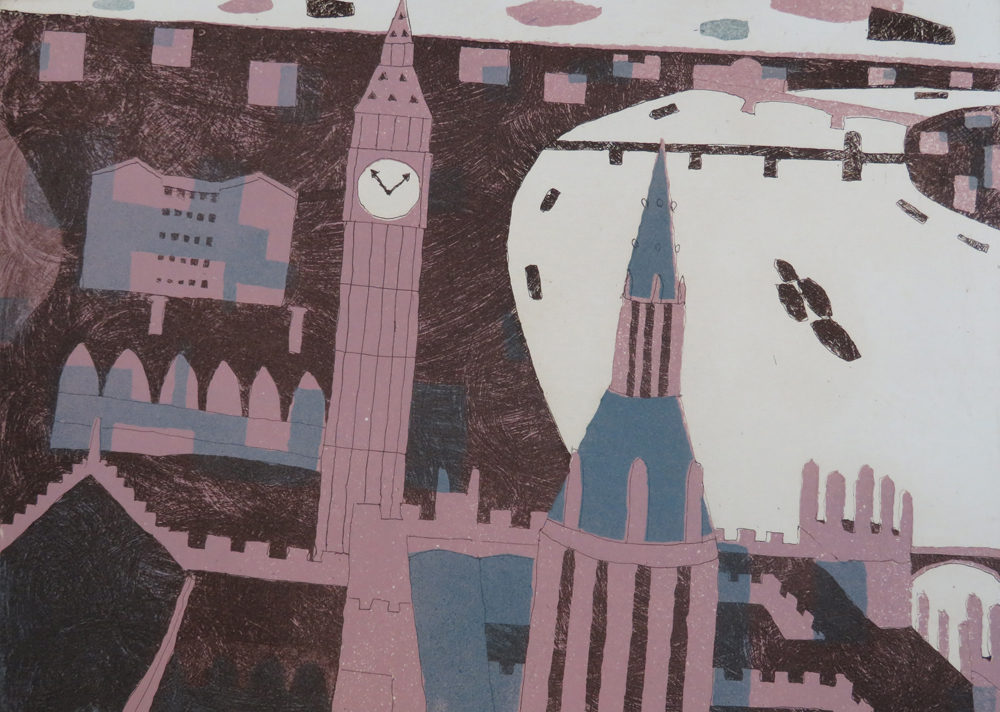 Westminster by Julian Trevelyan