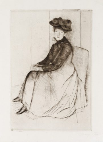 Reflection by Mary Cassatt at