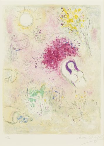 Chloe by Marc Chagall at