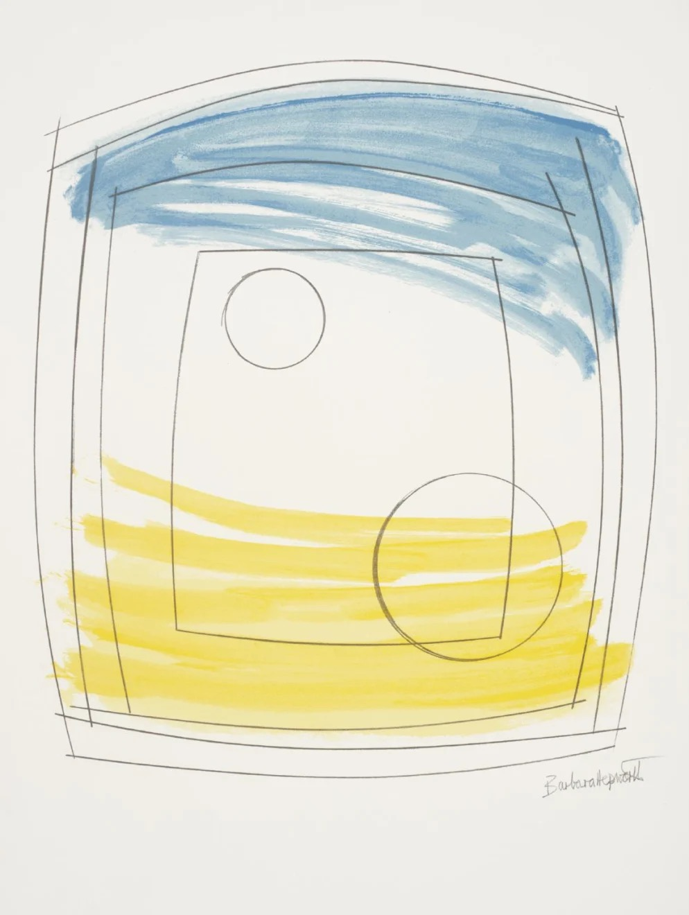 Moonplay by Barbara Hepworth