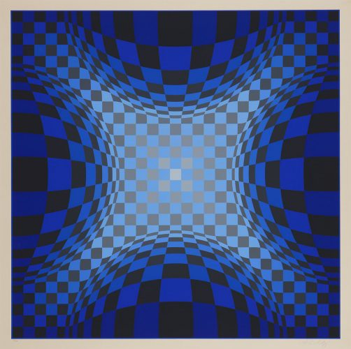 Ond-lz by Victor Vasarely at